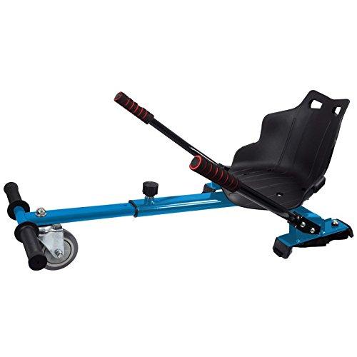 Asiento Kart para patinete eléctrico / HOVERKART (AZUL)