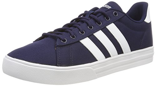 adidas Herren Daily 2.0 Gymnastikschuhe, Blau Collegiate Navy FTWR White, 44 EU - Adidas Canvas Schuhe
