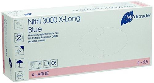 Meditrade 1282XL Nitril X-Long blue, 1er Pack (1 x 100 Stück)
