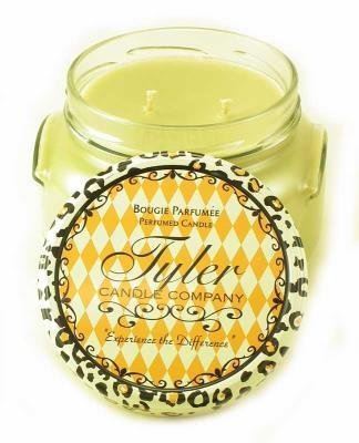 WHAT A PEAR Tyler 22 oz Large Scented 2-Wick Jar Candle by Tyler
