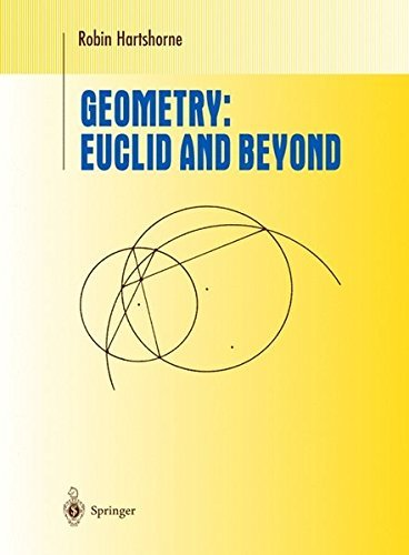 Geometry: Euclid and Beyond (Undergraduate Texts in Mathematics) by Robin Hartshorne (2000-06-08)