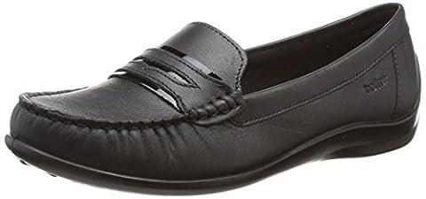 Hotter Darcy, Mocassins (loafers) femme - noir - Black (Black Black Patent), 42