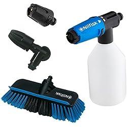 Nilfisk 128500956 Kit de Nettoyage de Voiture, Bleu