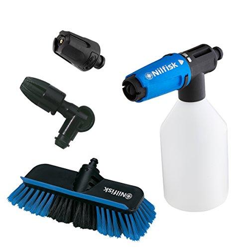 Nilfisk 128500956 Kit de Limpieza para Coche, Accesorios para hidrolimpiadora de Alta presión, azul