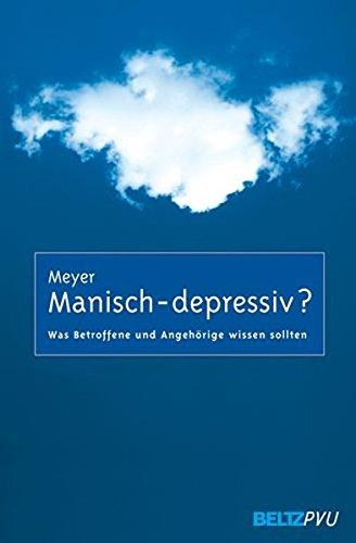 Cover »Manisch-depressiv?«