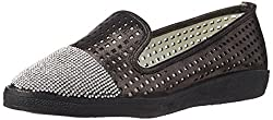 Carlton London Womens Lanie Black Loafers and Mocassins - 3 UK (CLL-3102)