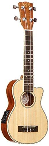 Korala-UKS-de-450-de-CE-Ukelele-Soprano-Solid-Spruce-Top-con-Guitar-Machine-Head-Rosewood-dedos-Board-Cutaway-Fishman-201-EQ