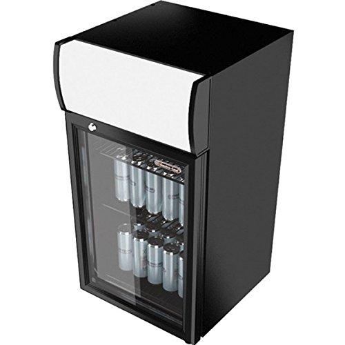 Gastro-Cool Arrière-bar vitré Réfrigérateur 52 L GCDC50 BBB Mini frigo