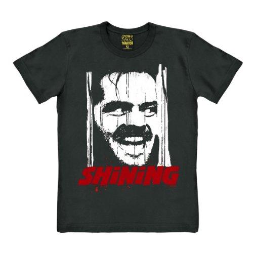 Traktor Camiseta El Resplandor - Shining - Camiseta de Película - Camiseta con cuello redondo -...