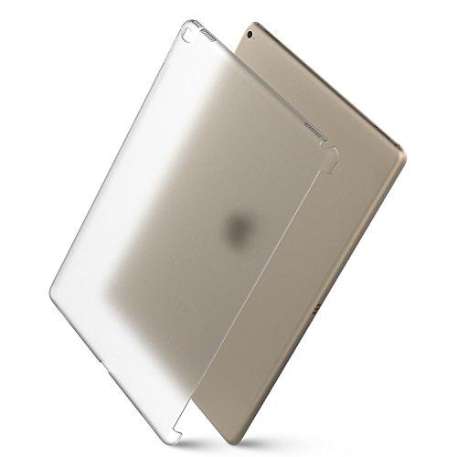 MoKo iPad Pro 12.9 Funda - Ultra Delgado Trasera de Plástico Transparente Durable Smart Cover Parachoque (Compatible con iPad Pro Teclado Oficial) para Apple iPad Pro 12.9 Pulgadas 2015, para Apple iPad Pro 12.9 Pulgadas 2015 Tableta,