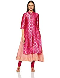 e7807a07ce Amazon.in  Silk - Salwar Suits   Ethnic Wear  Clothing   Accessories