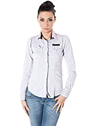 ZU ELEMENTS Z13014735746OH Rene' Camisa con Las Mangas largas Mujer