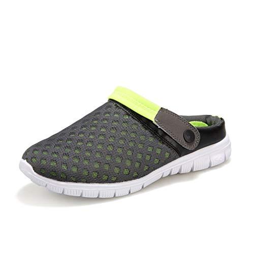 Clogs Mesh Slippers Sandalen für Frauen Closed Toe Slip on Beach Schuhe Schnell trocknend Outdoor Walking Slippers