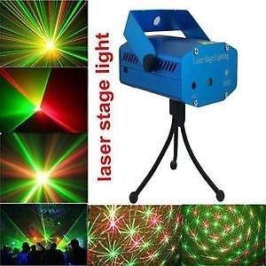 Mini Laser Projector Stage Lighting Sound Activated Laser Light for Party and DJ( 6 DIFFERENT DESIGNS ARE PROJECTED)  available at amazon for Rs.799