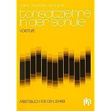 Tonsatzlehre in der Schule, Arbeitsbuch für den Lehrer by Heinz-Christian Schaper (1982-09-15)