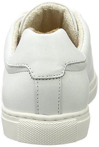 Fred de la Bretoniere Damen Sneaker Leder Weiß (White)