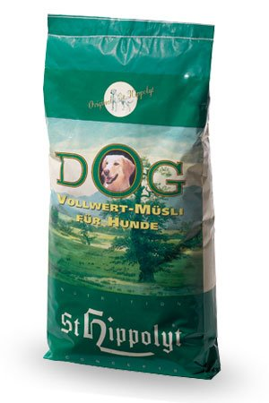 Alle Kleie Getreide (St. Hippolyt Dog Vegetarisch 15 kg)