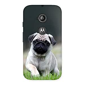 Unicovers Pug Dogo Back Case Cover for Moto E 2nd Gen