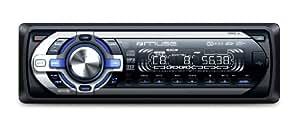 Muse M-1018 MR Autoradio CD/mp3 4 x 40 W Port USB/SD Noir/argent