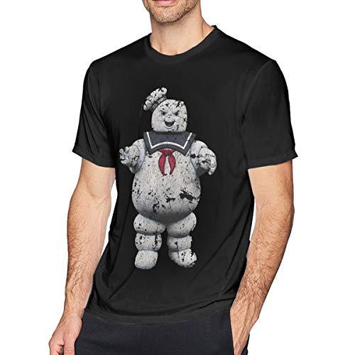 Fomente Ghostbusters Stay Puft Herren Komfortabel T-Shirt Black XL