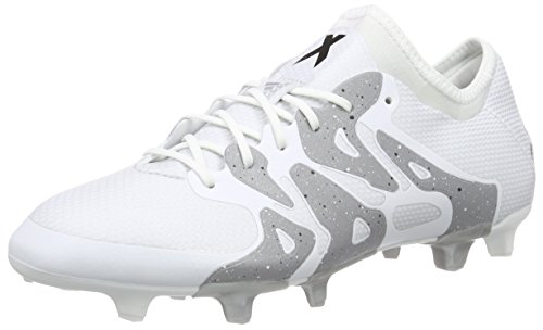 adidas Performance X15.1 Fg/Ag Herren Fußballschuhe Weiß (Ftwr White/Core Black/Silver Met.)