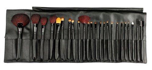 24 PCS Pinceaux Cosmétiques/Trousse à Maquillage Professionnel/Makeup Pinceaux Set