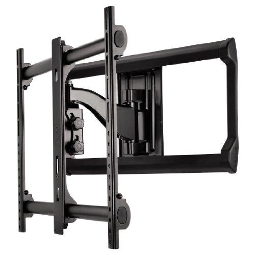 Sanus Systems TV Wandhalterung, Fullmotion, für 94 - 165 cm (37 - 65 Zoll) Fernseher, max.68 kg, Schwarz 37 Universal Tilt Wall