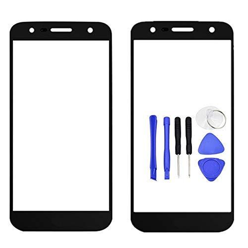 LG X Power 2 Frontglas Touchscreen LCD Außenscheibe Ersatzteil mit Werkzeug für SP320 X Charge / M320 M322 M327 X320S X500 / US601 X Charge / M320N M320G M320F L64VL / Fiesta 2 LTE Lg Touch-screen Lcd