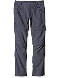 The North Face Horizon Pantalon convertible Plus Short cargo pour femme – Gris vanadis, Taille 6