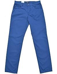 Brax Hose Modell: Cooper Fancy Baumwolle Marathon Blau 5-pocket W33 L34