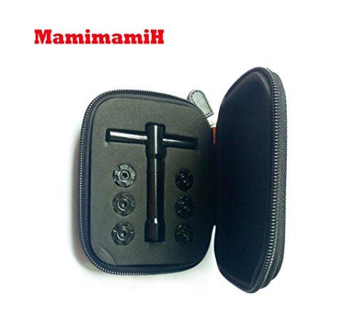 mamimamih 6Golf Gewichte scews Kit Schlüssel für Ping G25i25Passform Driver Fairway Holz Hybrid (Ping 4 Hybrid)