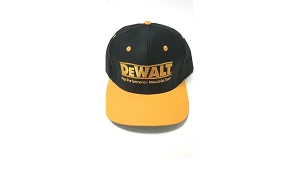 DEWALT New Hi Performance Adjustable Snap-Back Baseball Cap - One Size Fits  All  Amazon.co.uk  Clothing c426829c932