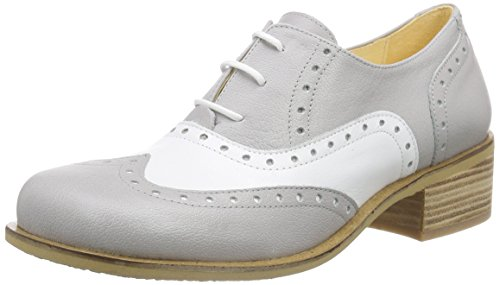 John W. Shoes Sora, Oxfords femme Multicolore - Mehrfarbig (cloud/blanco)