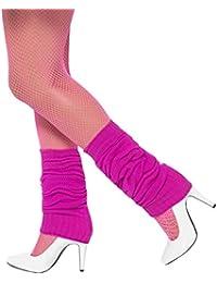 Smiffys Calentadores, rosa fuerte