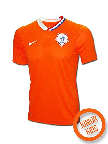 Nike - Holanda 1ª Camiseta Junior EURO08 Hombre Color: Naranja Talla: L