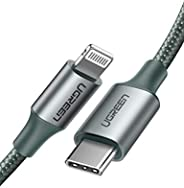 UGREEN USB C to Lightning Braded Cable