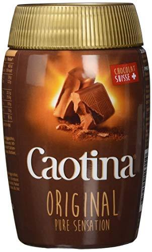 Caotina Original Kakao Vollmilch 200g, 3er Pack (3 x 200 g) (Schokolade Haselnuss Heiße)