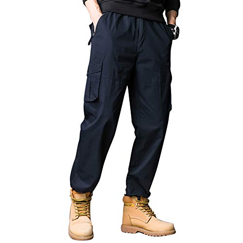 Ynport Crefreak Tuta Sportiva da Uomo Pantaloni da Lavoro da Uomo Pantaloni Cargo Multitasche Pantaloni Sportivi da Esterno