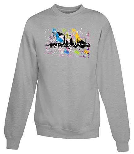 Billion Group | Turkey - Istanbul | City Collection | Women's Unisex Sweatshirt Gris