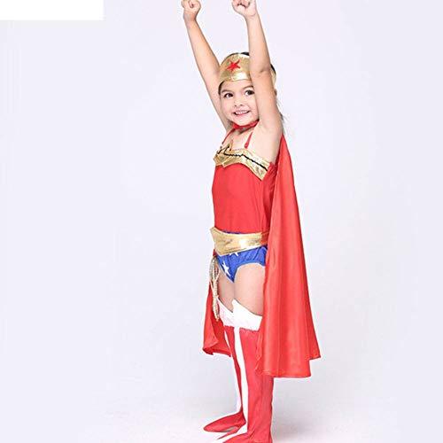 Halloween Non Kostüm - AIYA Halloween Performance Kostüme Kinder Cosplay Kostüme Anime Superman Rollenspiel Anzüge