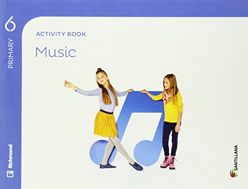 MUSIC 6 PRIMARY ACTIVITY BOOK - 9788468029290 por Aa.Vv.