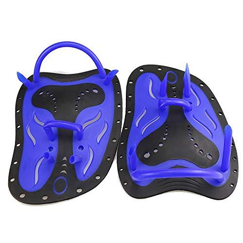 QYHSS Handpaddel zum Schwimmen, Paddel zum Training, 1 Paar Schwimmen Paddel Hand Paddel Handschuhe für Kinder und Erwachsene, Tauchen Handflossen, Geeignet für Tauchen Schnorcheln