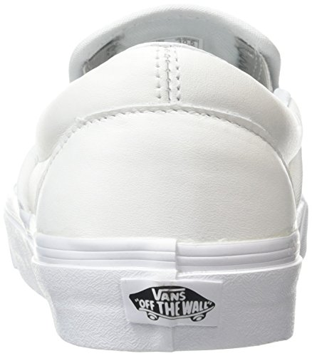 Vans Classic Slip-on, Sneakers Basses mixte adulte Blanc (Metallic Gore white/silver)