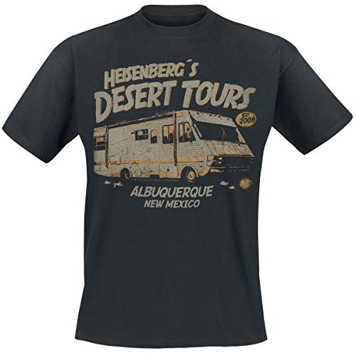 Breaking Bad Heisenberg Desert Tours T-Shirt schwarz L (Breaking Bad)