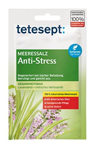 Tetesept mar baño de sal anti-estrés, 5-pack (5 x 80 g)