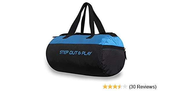 15e94e171778 Buy Nivia 5175 Gym Bag (Black) Online at Low Prices in India - Amazon.in