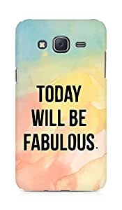 AMEZ today will be fabulous Back Cover For Samsung Galaxy J5