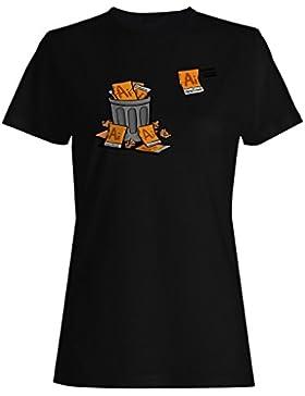 Bin completo archivos ilustrador camiseta de las mujeres g989f