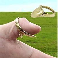 NO LOGO SHIYM-Bow - Anillo Protector de Dedo para Tiro con Arco (latón)