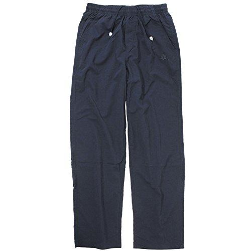 Pantalon de sport microfibre bleu foncé d'Ahorn sport grandes tailles jusqu'à 10 XL, Taille:3XL
